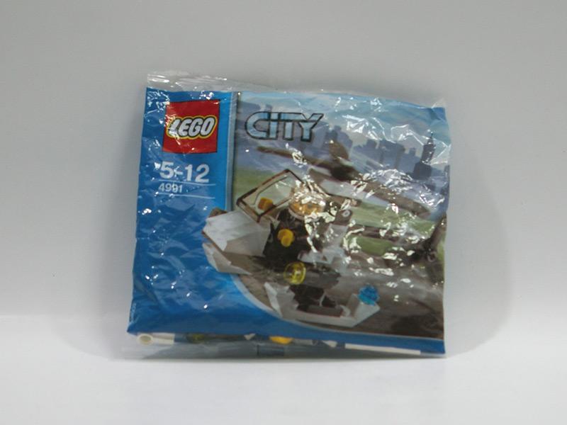 #4991 レゴ ポリス・ヘリコプター