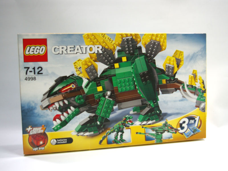 #4998 レゴ ステゴザウルス