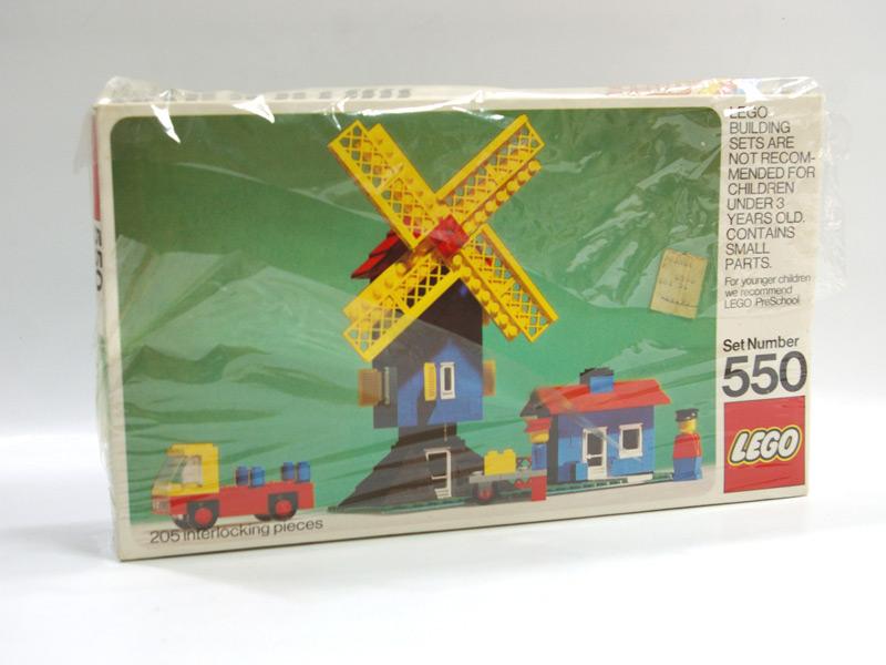 #550 レゴ レゴランド風車小屋