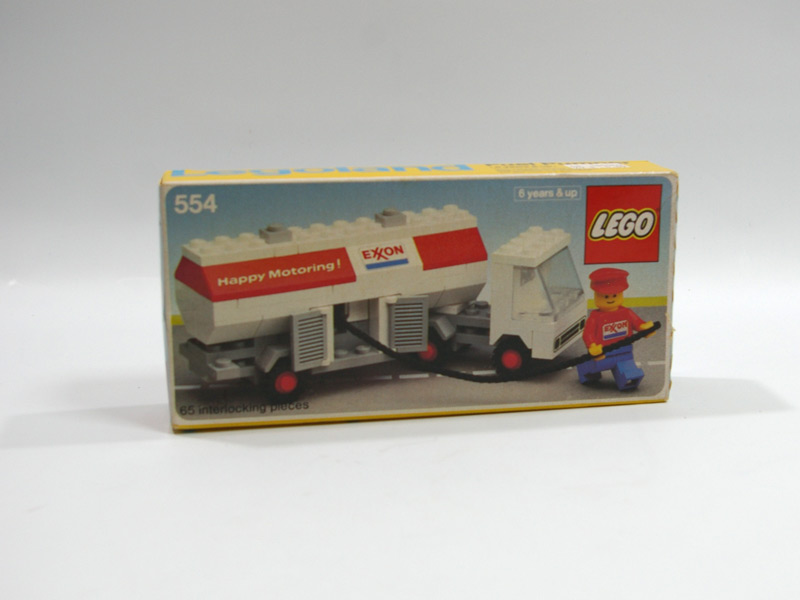 #554 レゴ タンク車