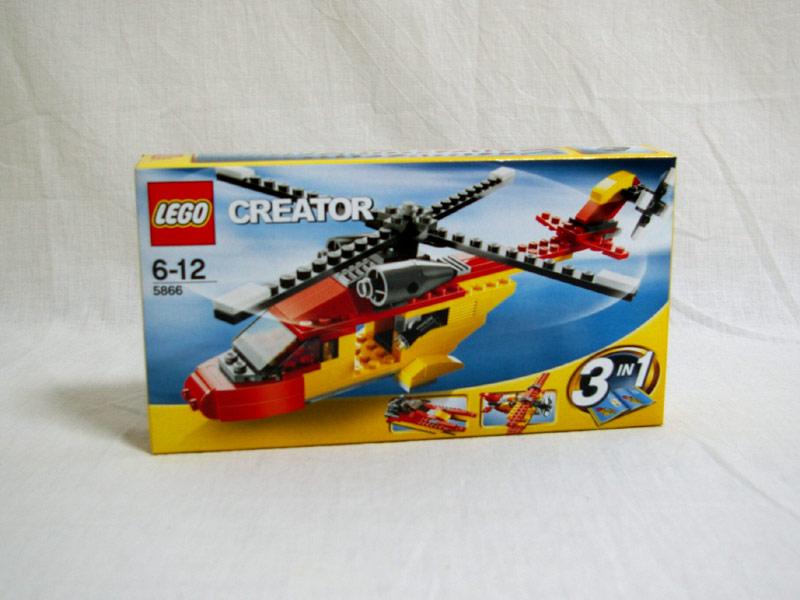 #5866 レゴ レスキューヘリ