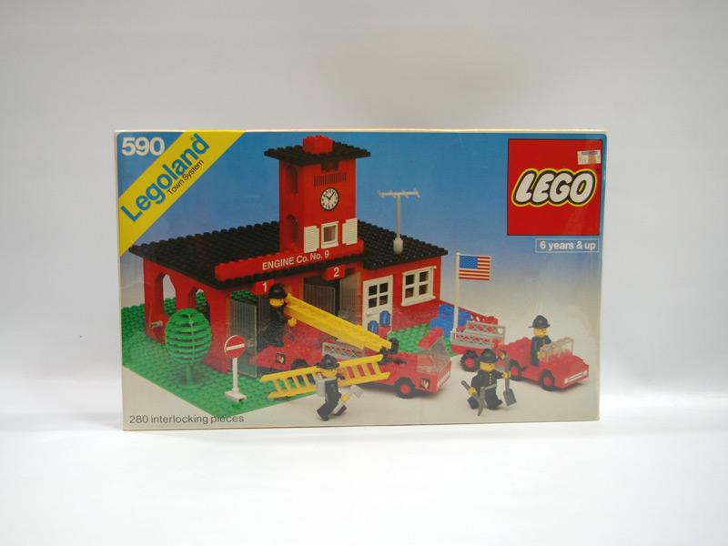#590 レゴ 第9消防署