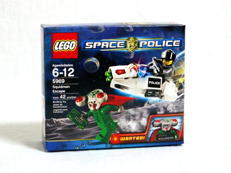 #5969 レゴ スクイッドマンの逃走