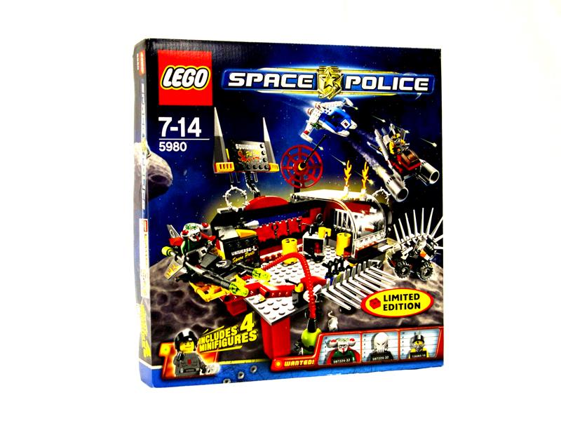 #5980 レゴ スクイッドマンのピットストップ