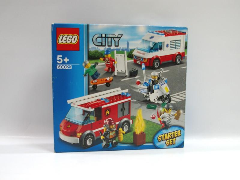 #60023 レゴ シティ ・スターターセット