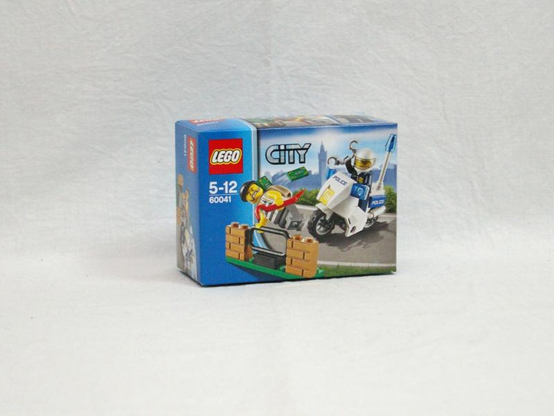 #60041 レゴ ポリスバイクとドロボウ