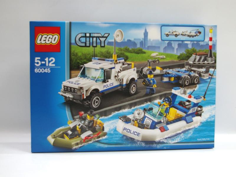 #60045 レゴ ポリスオフロードボートキャリアー