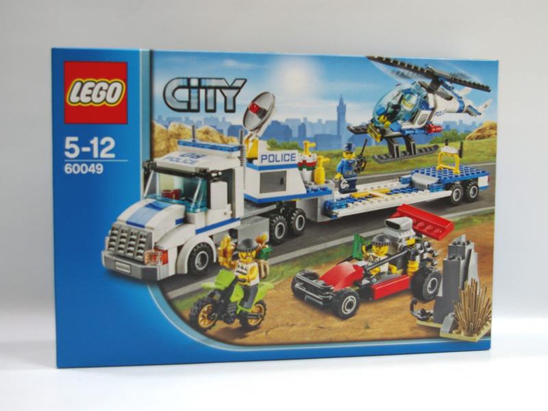 #60049 レゴ ポリスヘリコプターキャリアー
