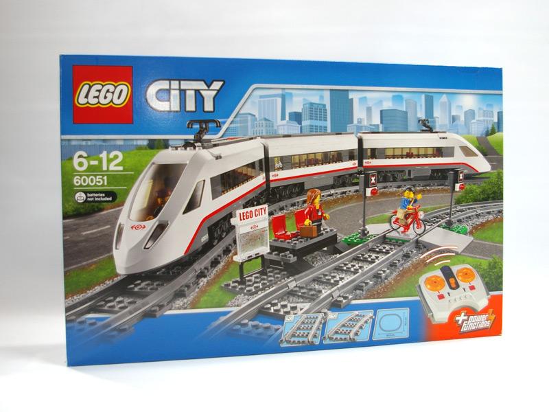 #60051 レゴ ハイスピードパッセンジャートレイン