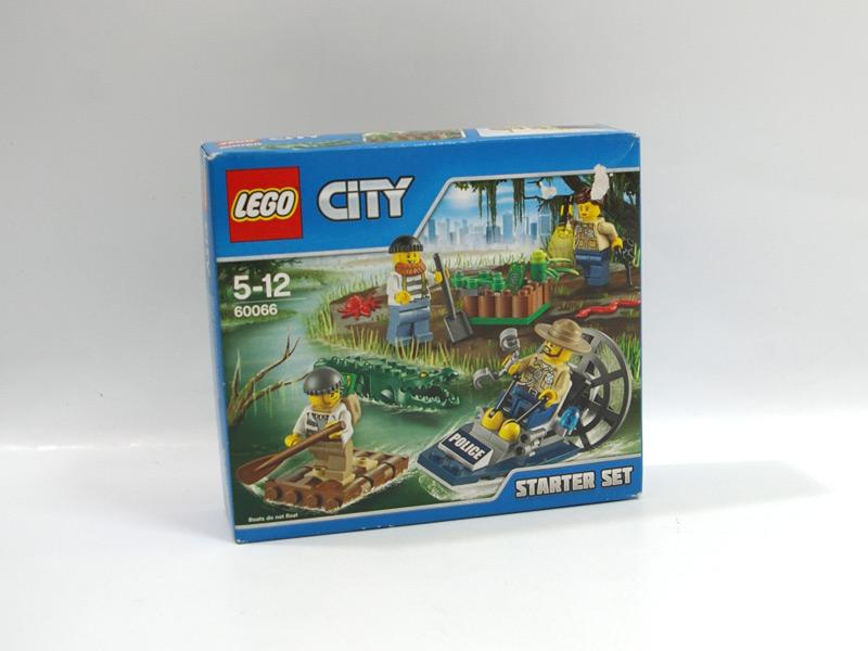 #60066 レゴ 沼地で追跡スタートセット