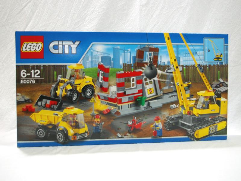 #60076 レゴ ビル解体工事現場