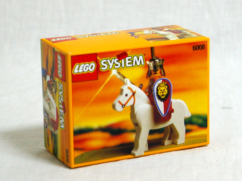 #6008 レゴ ロイヤルキングと白馬