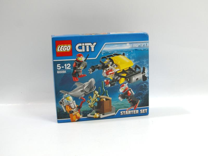 #60091 レゴ 海底調査スタートセット