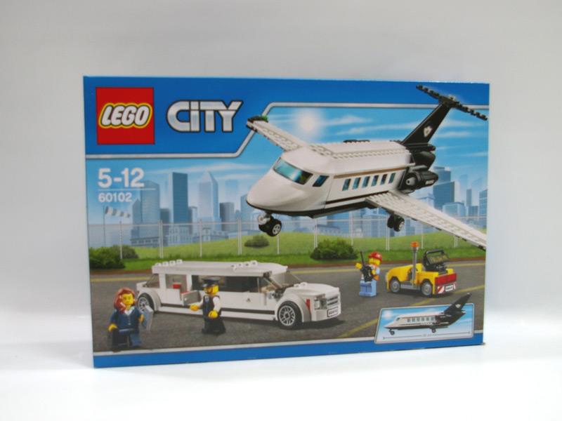 #60102 レゴ プライベートジェットとリムジン