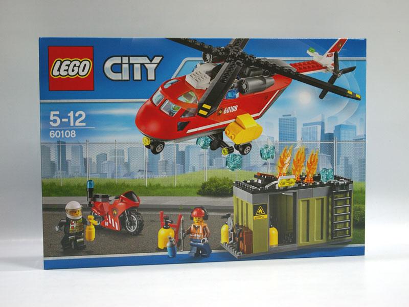 #60108 レゴ 消防ヘリコプター