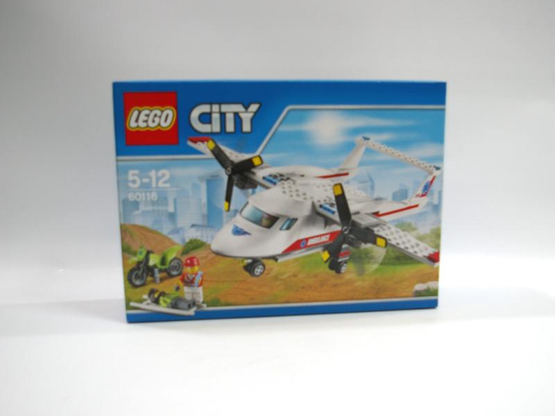 #60116 レゴ 救急飛行機