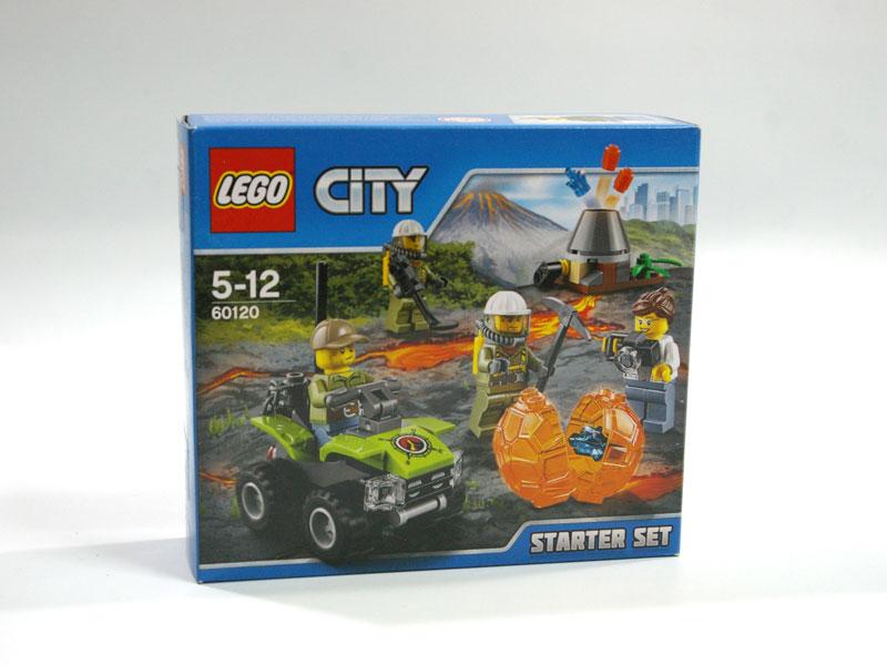 #60120 レゴ 火山調査スタートセット