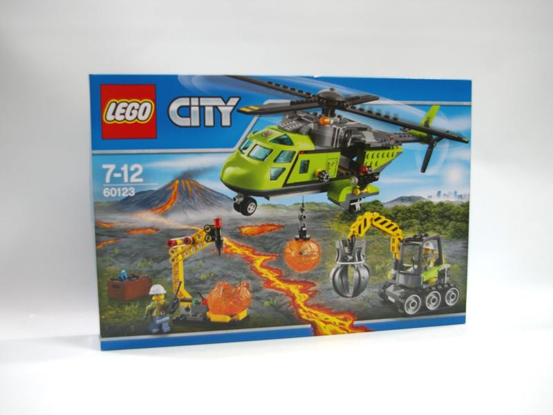 #60123 レゴ 火山調査隊のヘリコプター