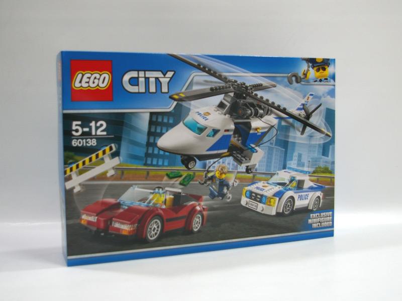 #60138 レゴ ポリスヘリコプターとポリスカー