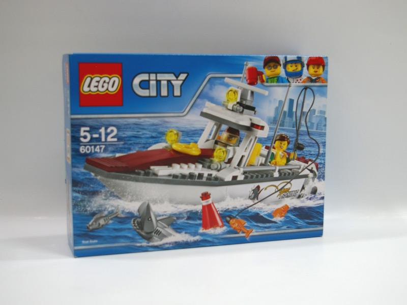 #60147 レゴ フィッシングボート