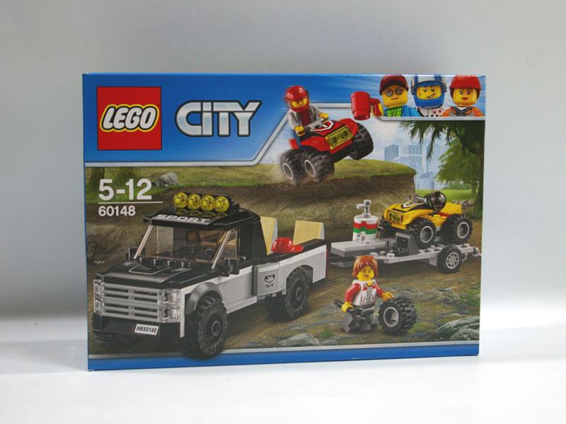 #60148 レゴ 四輪バギーとトレーラー