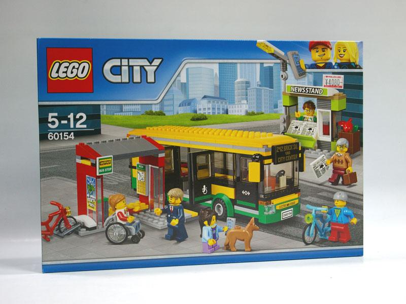 #60154 レゴ バス停留所