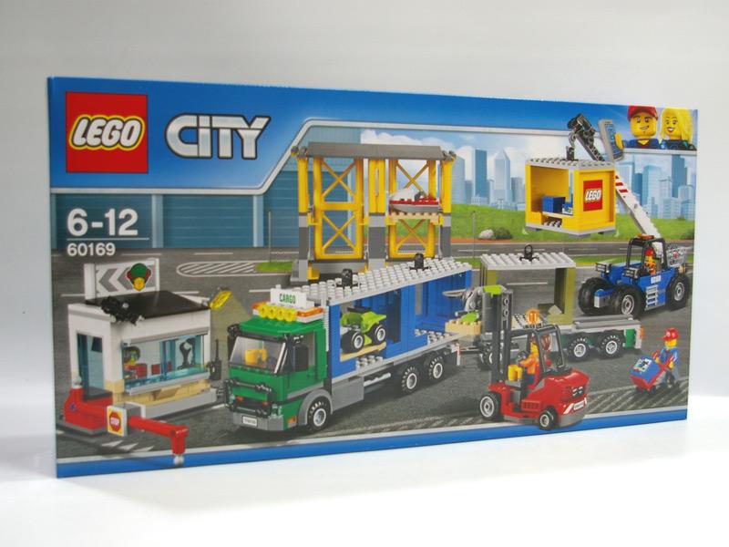 #60169 レゴ シティ配送センターとコンテナトラック