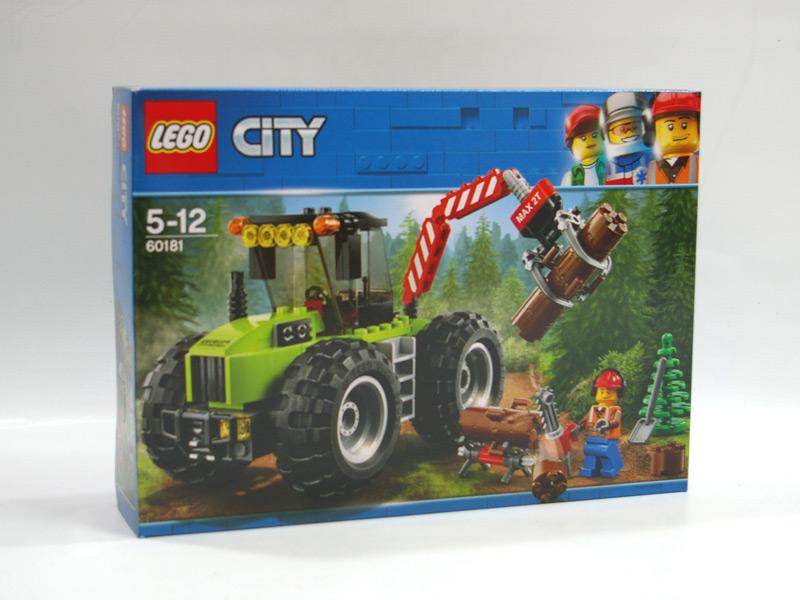 #60181 レゴ 森のパワフルトラクター