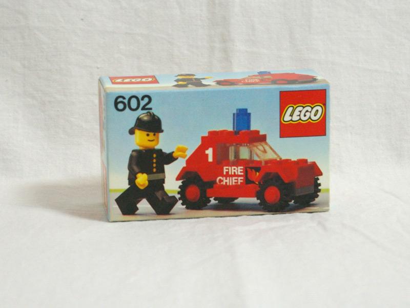 #602 レゴ 消防ジープ