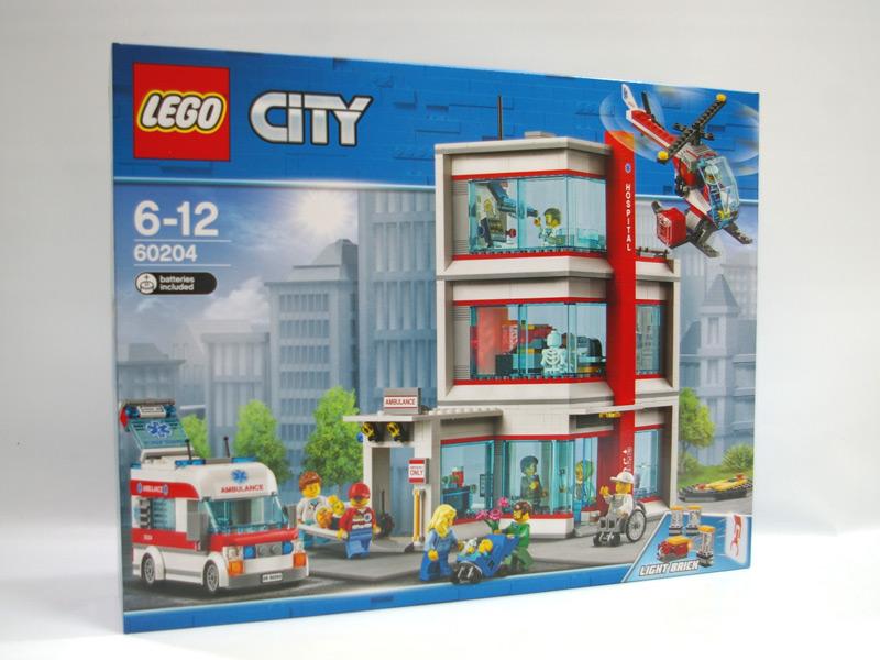 #60204 レゴ シティ病院