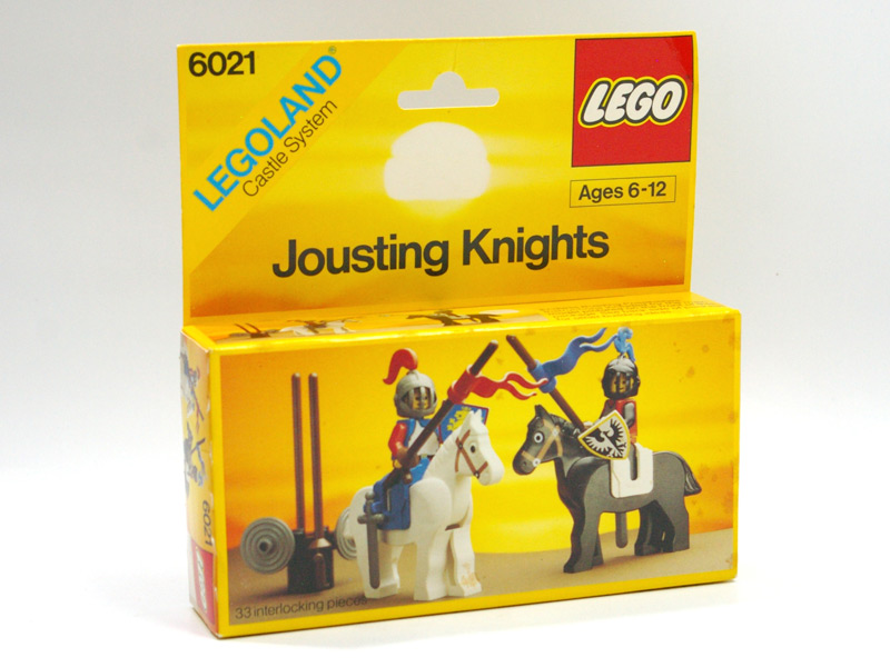#6021 レゴ 騎馬戦