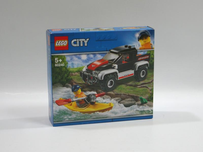 #60240 レゴ カヤックとオフロードカー