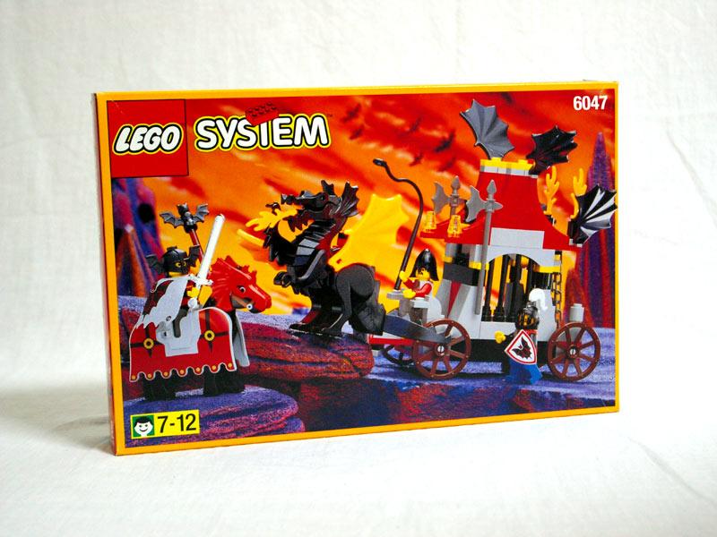 #6047 レゴ ブラックドラゴンカート
