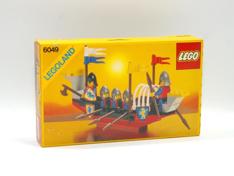 #6049 レゴ 騎士の船