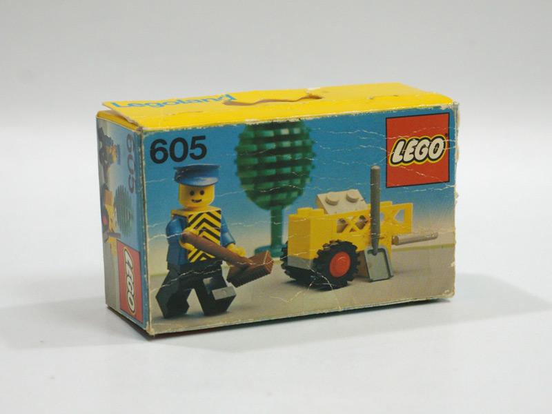 #605 レゴ 清掃員