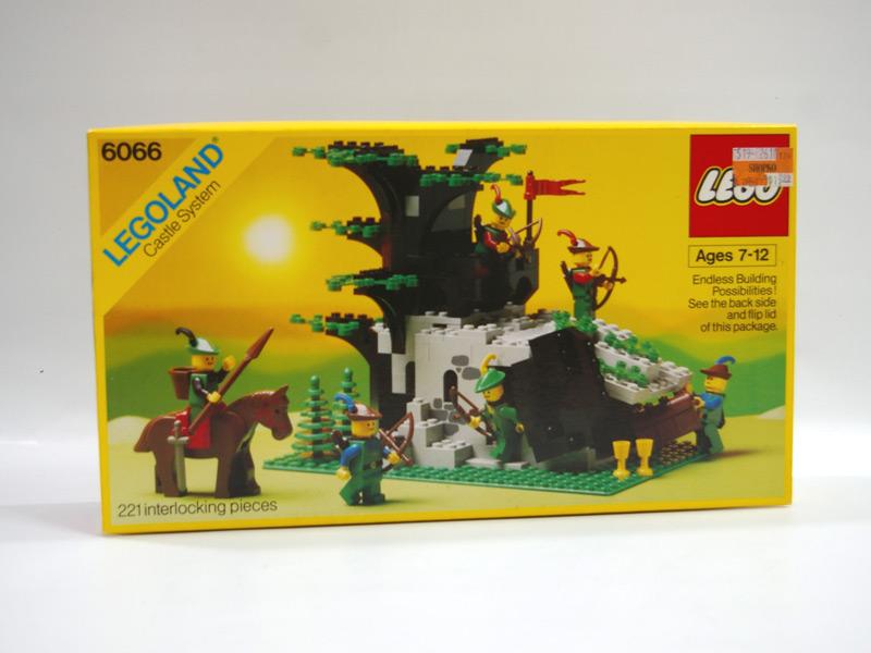 #6066 レゴ 森のかくれ家