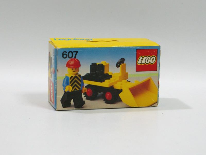 #607 レゴ シャベルカー