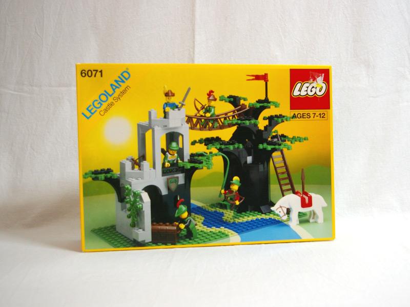#6071 レゴ 森のつり橋