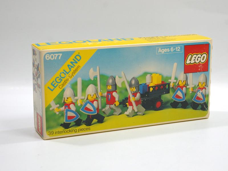 #6077 レゴ ナイトミニフィグセット