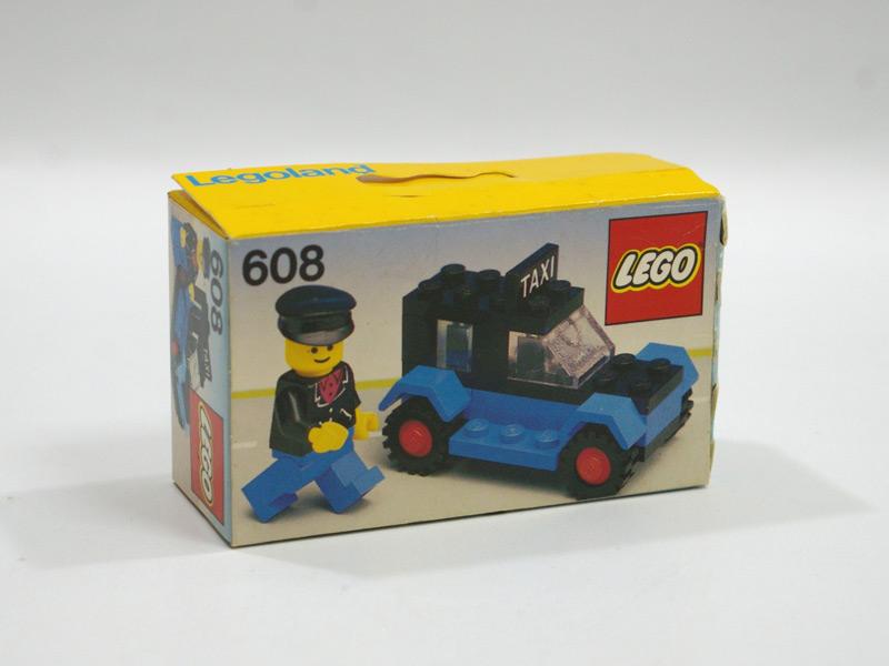 #608 レゴ タクシー