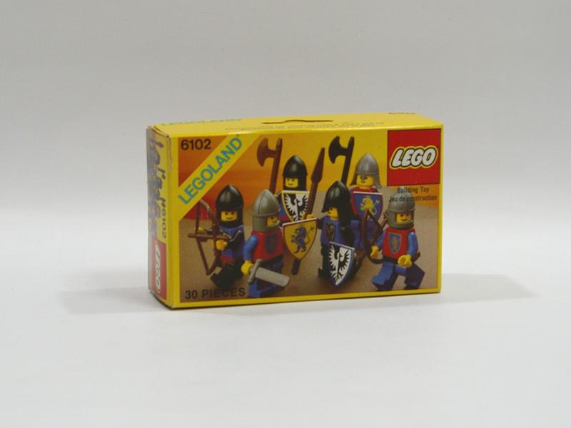 #6102 レゴ 騎士セット