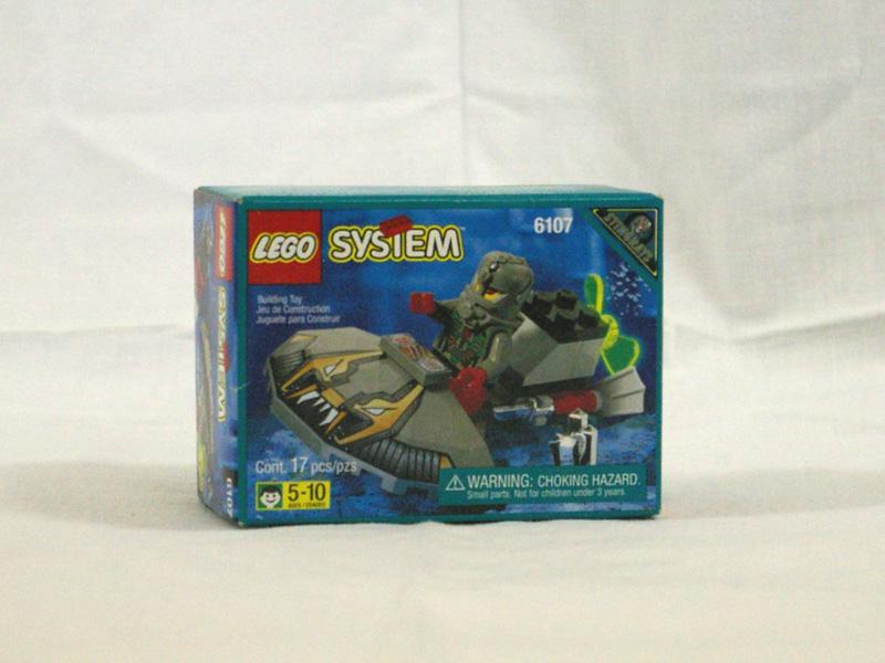 #6107 レゴ 偵察潜水艇