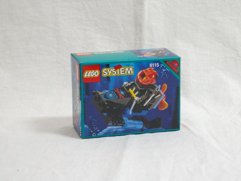 #6115 レゴ シャークミニビークル