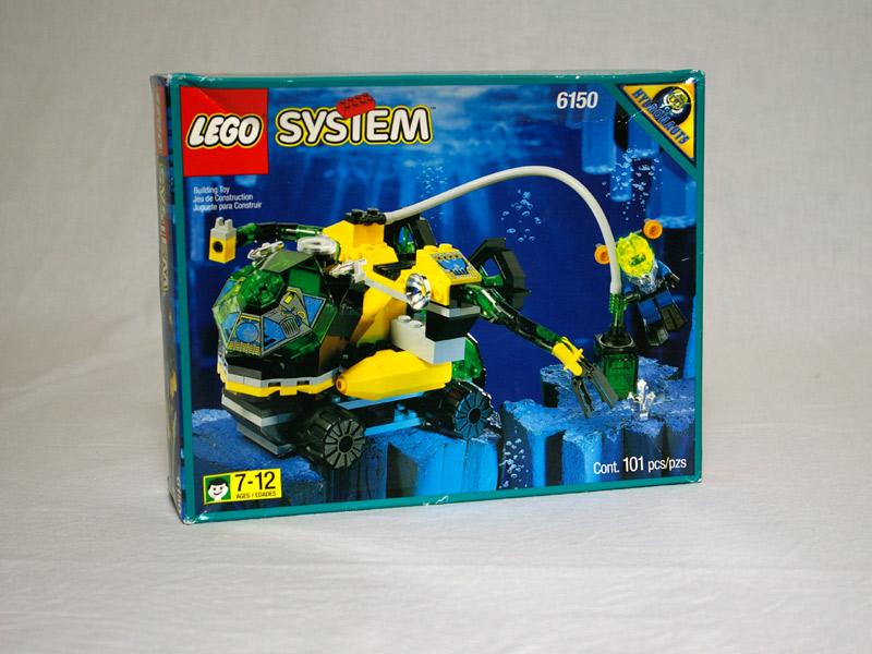 #6150 レゴ クリスタル探知車