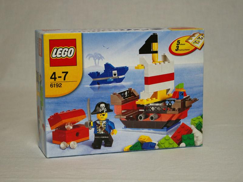 #6192 レゴ 基本セット・パイレーツ