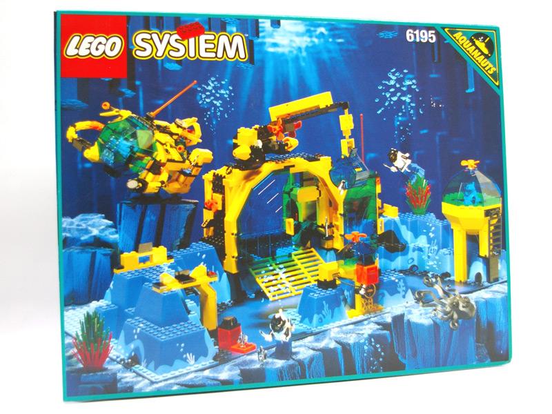 #6195 レゴ アクアノーツ海底基地