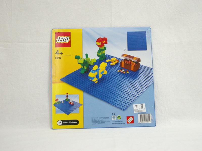 #620 レゴ 基礎板(青色)