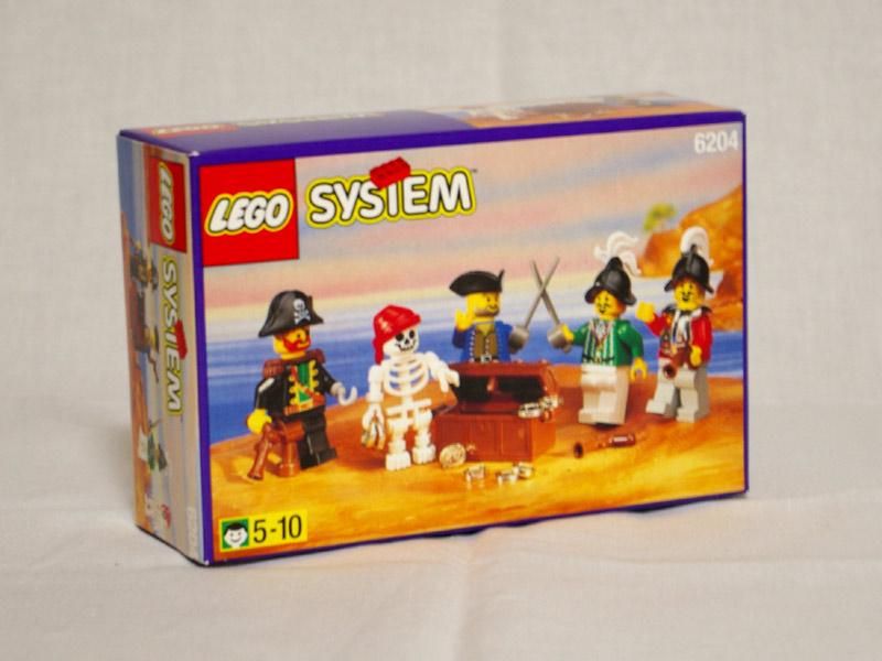 #6204 レゴ 人形セット