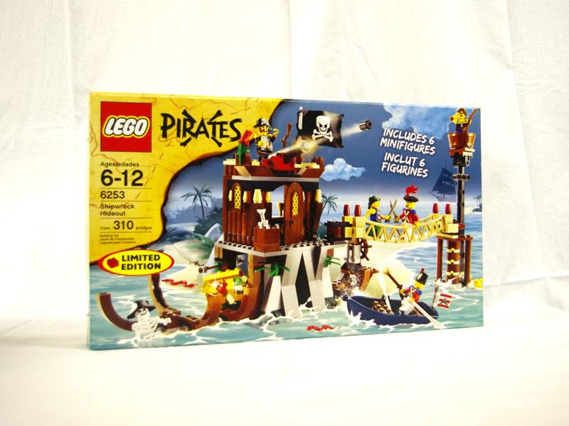 #6253 レゴ 難破船のアジト