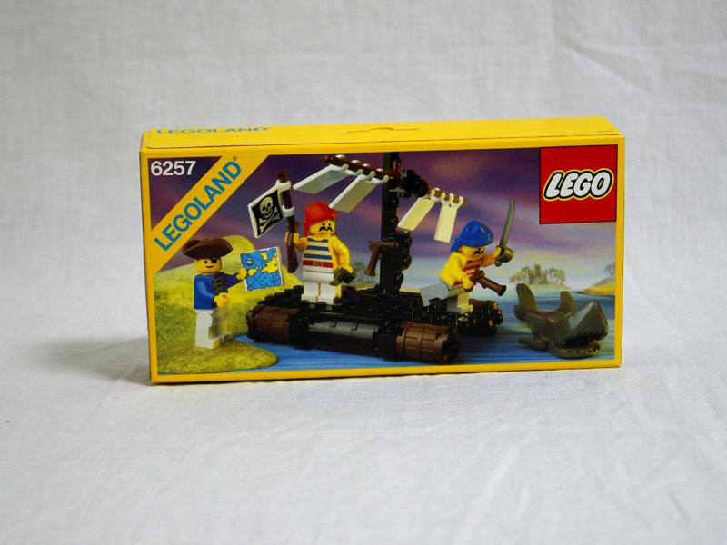 #6257 レゴ いかだにのった海ぞく